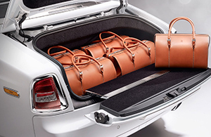 Rolls-Royce Phantom luggage.