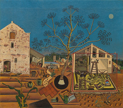 The Farm (1921–1922) by Joan Miró.