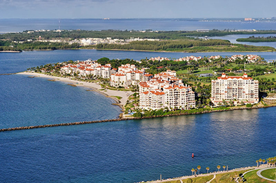 Fisher Island, Florida. Photo by Alexf - Own work, CC BY-SA 3.0.