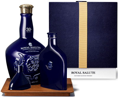 Royal Salute 30 Year Old - The Flask Edition: £600.