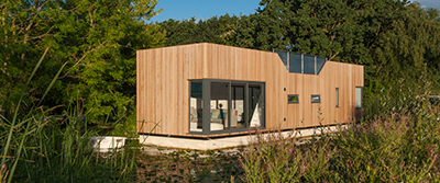 The Chichester prototype floating home: £200,000.