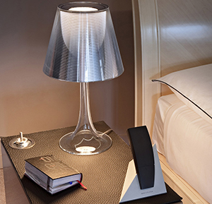 Flos Miss K lamp designed by Philippe Starck.