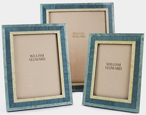 William Yeoward Marquetry Picture Frames - Cobalt.
