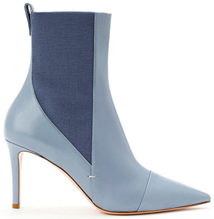 Elisabetta Franchi pointed-toe low-cut boots: €539.