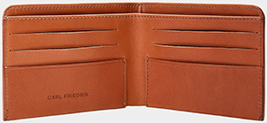 Carl Friedrik Amwell Leather bifold wallet: £95.