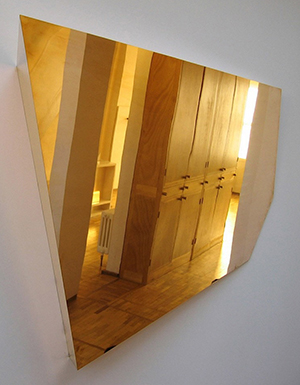 The Future Perfect mirror Brass Mirror Type 1 designed by Michael Anastassiades: US$28,500.