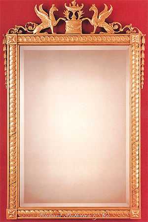 Richard Rothstein 18th Century Classic Formal Giltwood Mirror: US$2,575.