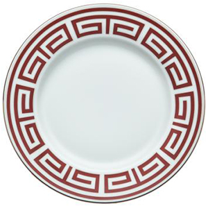 Richard Ginori Labirinto Scarlet Dinnerware Buffet Dinner Plate: US$125.