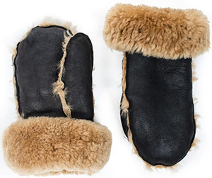 N'Damus London Hands Warm Shearling Mittens: £80.