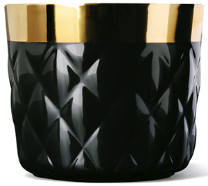 Sieger by Fürstenberg Goblet Cushion Noir: €172.