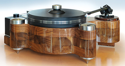 PBN Audio GrooveMaster turntable.