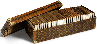 Ernest Hemingway's Louis Vuitton library trunk.