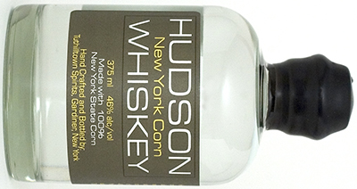 Hudson New York Corn Whiskey.