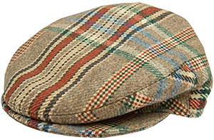 Huntsman House Tweed Flat Cap: £150.