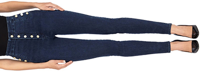 J Brand women's Natasha Sky High Super Skinny in Allegiance: US$268.