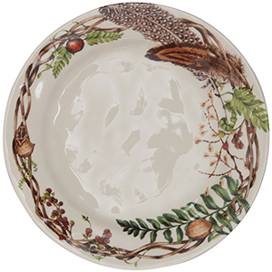 Juliska Forest Walk Dinner Plate: US$49.