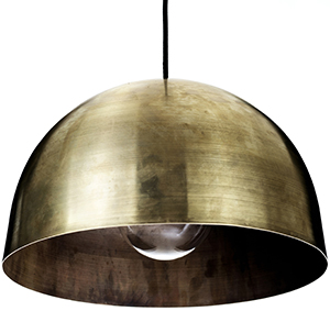 Copenhagen Joinery KBH brass lamp.