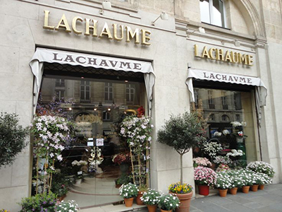 Lachaume, Rue du Faubourg Saint-Honoré, 75008 Paris, France.