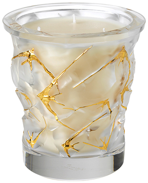Lalique Oceans 'Gold Edition', Crystal Scented Candle: €1,490.