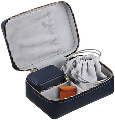 Stow Amelia Leather Jewellery Case 2-Piece Set: £295.