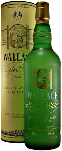 Wallace Single Malt Whisky Liqueur: £179.