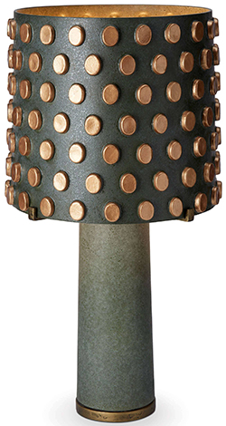 L'Objet Pakal Table Lamp: US$750.