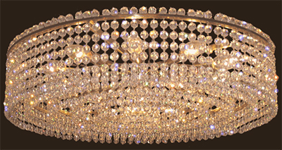 J & L Lobmeyr Viennese Coffee House chandelier.