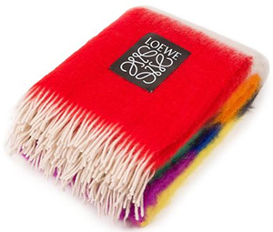 Loewe Multicolor Stripes Blanket Multicolour: US$750.