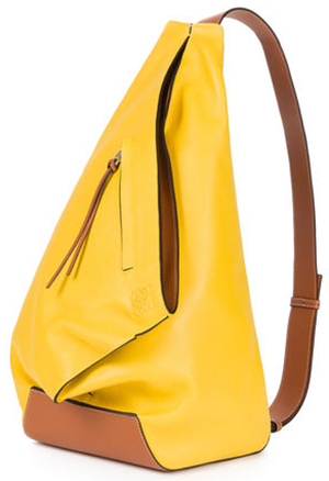 Loewe Anton Backpack Yellow/Tan: US$2,590.