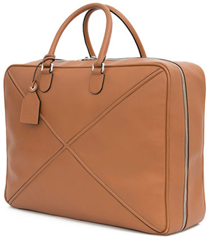 Loewe Cross Soft Suitcase 55 Tan: US$3,750.