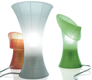 Luceplan Birzì table lamps.