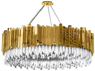Luxxu Empire suspension chandelier.