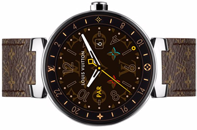 Louis Vuitton Tambour Horizon Monogram 42: US$2,450.