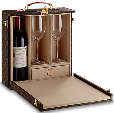 Louis Vuitton Wine Case 1 Bottle: US$7,800.