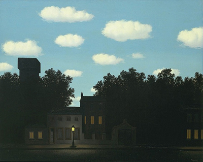 Empire of Light (1950) by René Magritte.