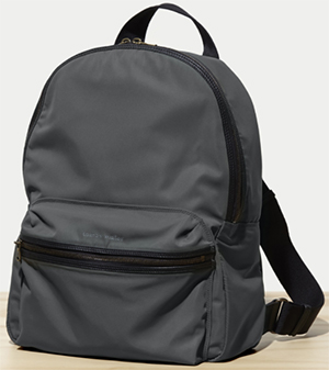 Tomas Maier men's nylon backpack: US$995.