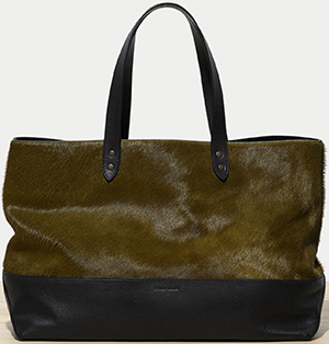 Tomas Maier men's east-west nomad bag: US$1,150.