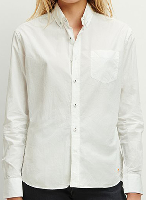 Tomas Maier boyfriend women's shirt: US$420.