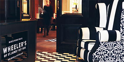 Marco Pierre White Wheeler's of St. James's Oyster Bar & Grill Room, 5 Threadneedle St, London EC2R 8AY, U.K.