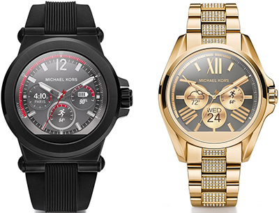 Michael Kors smartwatches.