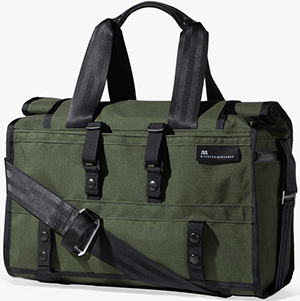 Mission Workshop The Helmsman Weatherproof Rolltop Duffle Bag: US$265.