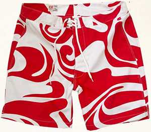 M.Nii Five-O Trunk Red Ginger: US$150.