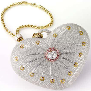 House of Mouawad 1001 Nights Diamond Purse handbag: US$3.8 million.