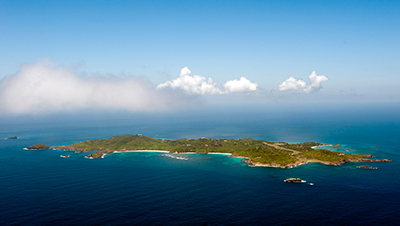 Mustique Island, Saint Vincent and the Grenadines.