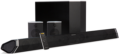 Nakamichi 7.1 Surround Sound Bar with Wireless Subwoofer: US$499.99.