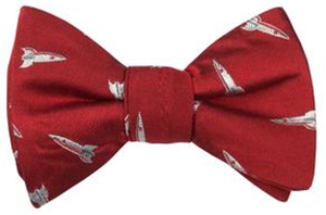 Nick Graham Red Rockets Bow Tie: US$59.50.
