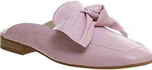 Office Dance Bow Mules New Pink Leather: £65.