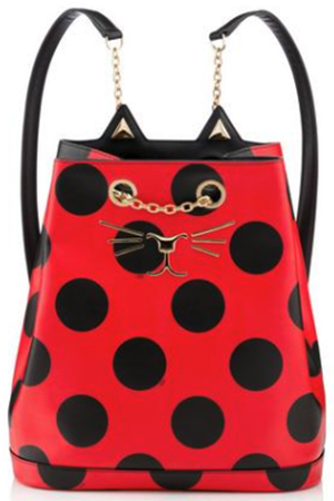 Charlotte Olympia women's Feline Backpack: US$1,565.