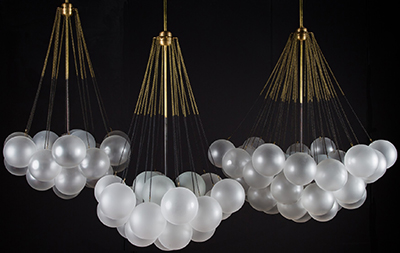 Apparatus Studio model Cloud lamps.