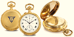 World's Most Expensive Watch #16: Vacheron Constantin Grand Complication, Movement No. 37555, Case No. 231922, pocket watch in 20-carat gold made for James Ward Packard in 1918 brought US$1,800,000 at Christie's New York auction on June 15, 2011.